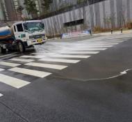 탄벌동 목현동 삼동 중대동 물차 살수차